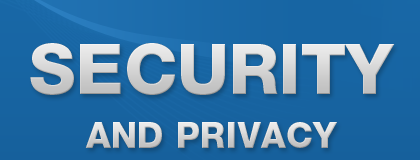 Security, Privacy and Backups