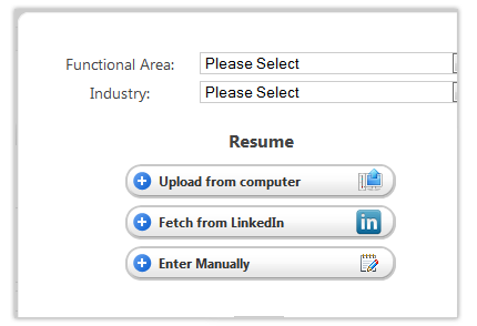 talent management system resume collection software
